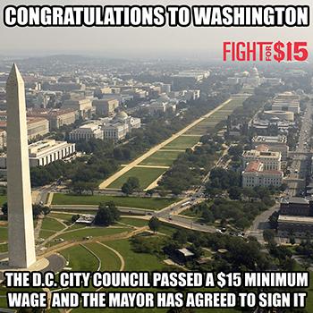 Congrats DC