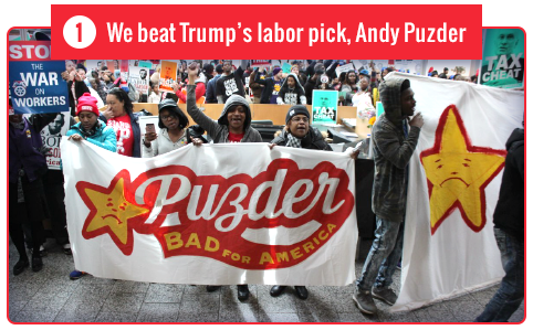 We beat Trump's labor pick, Andy Puzder