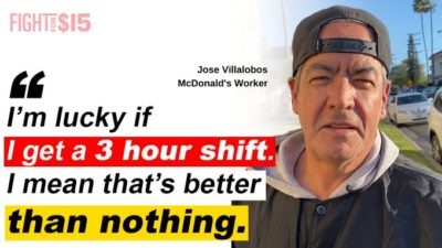 3 hours of work when wages are so low is nothing. We need living wages and #PaidSickLeave more than ever.