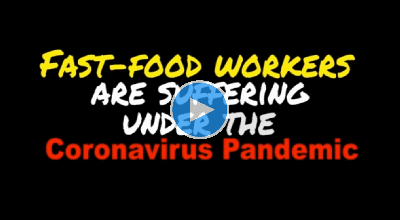 Fast-food workers usually live week to week, but now with the coronavirus we're living day by day with cut hours and fear of infection. It's time for McDonald's to listen to workers and our demands for safety and economic security!