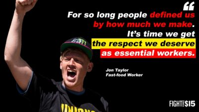 We're now being recognized as essential workers. It's time we're also treated as such!