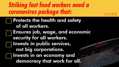 New coronavirus bills are moving fast in Congress. Tell your legislators to #ProtectAllWorkers NOW