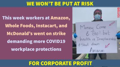 By failing to provide workers with basic protective gear, these corporations are placing the public at risk.