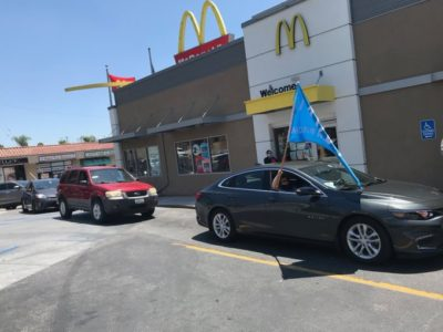 Two-thirds of McDonald's workers believe the company isn't doing enough to protect us during the COVID-19 pandemic. Today, we have gig workers and community members joining us to make our demands clear.