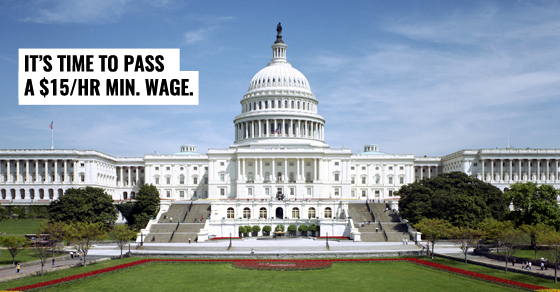 It's time to raise the federal minimum wage.