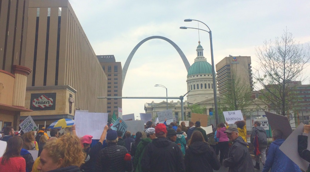 St. Louis Marches By the Arch